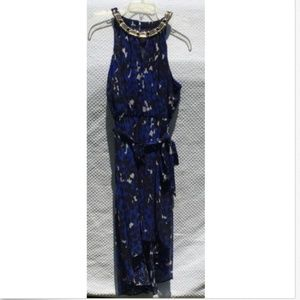 Thalia Sodi Women's Dress Large Blue Black